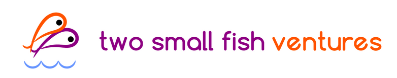 Logo two small fish